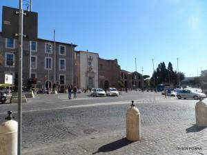 Plaza de la Republica.
